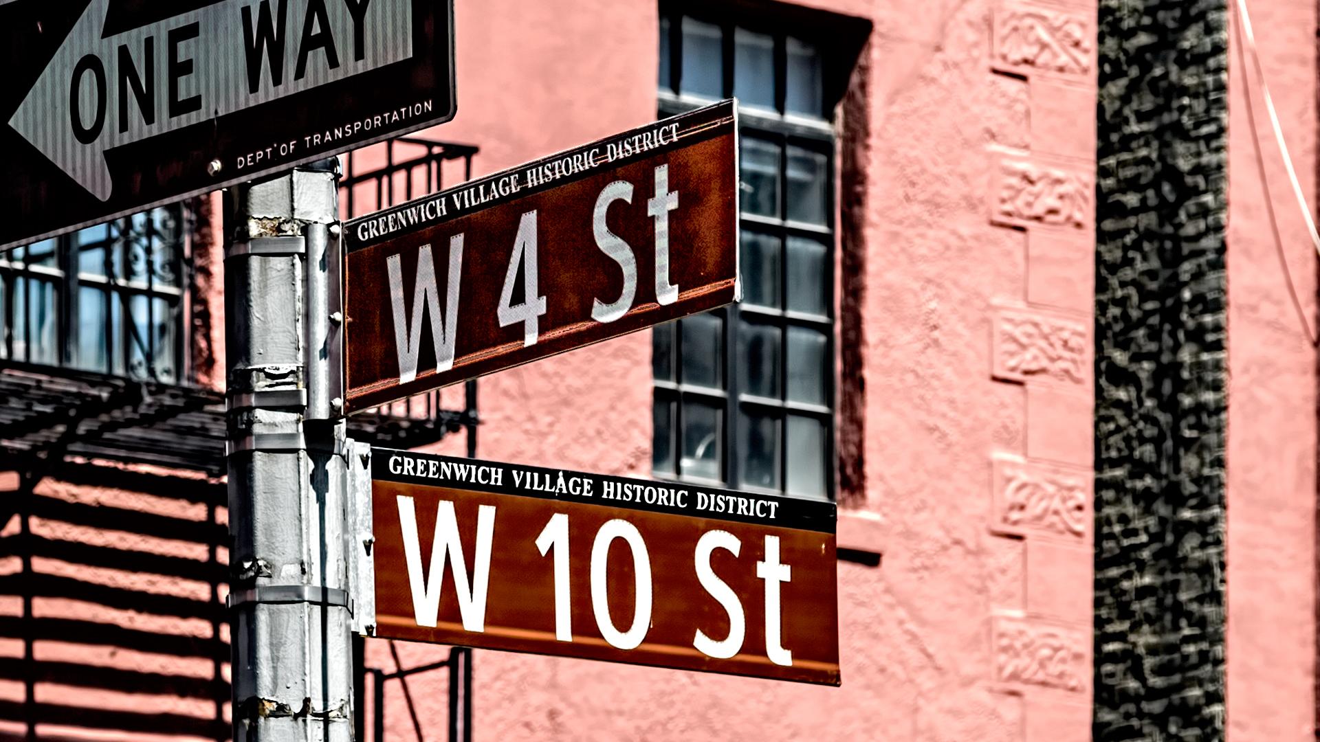 Greenwich Village Signs