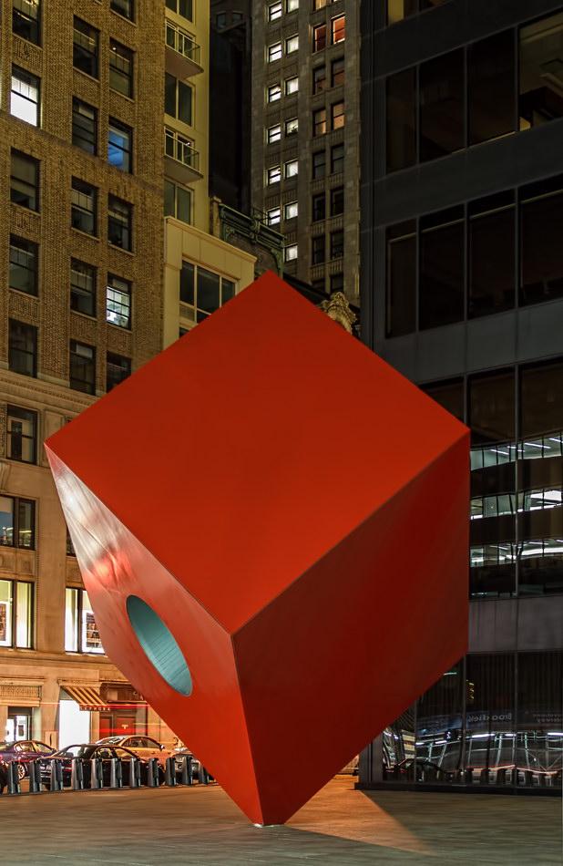 Isamu Noguchi's Cube