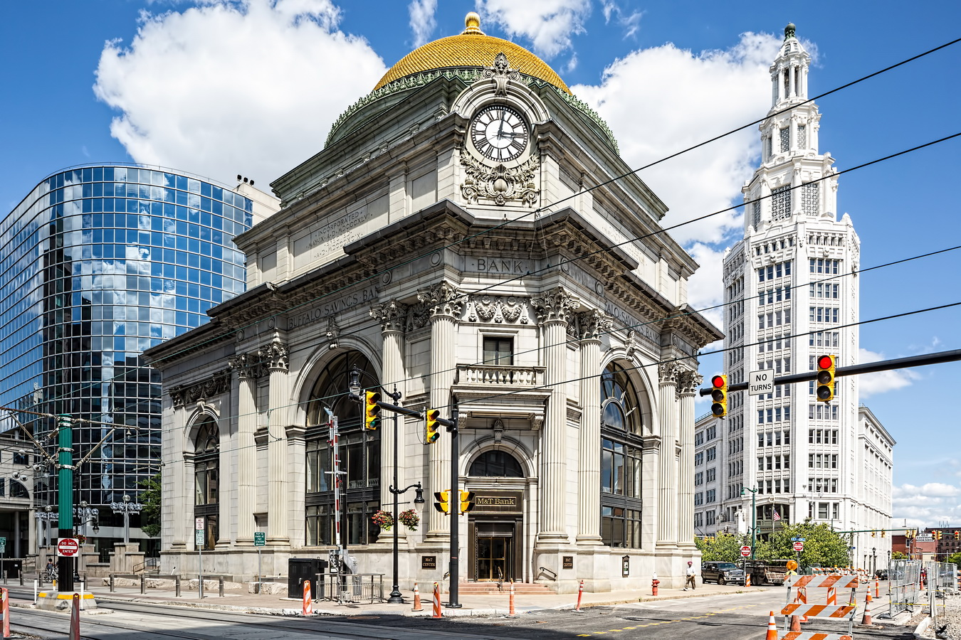 Buffalo ny archives newyorkitecture for Bank ballroom with beautiful mural nyc