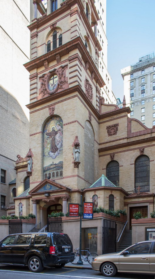 Church of St. Francis of Assisi, 135 W31st Street.