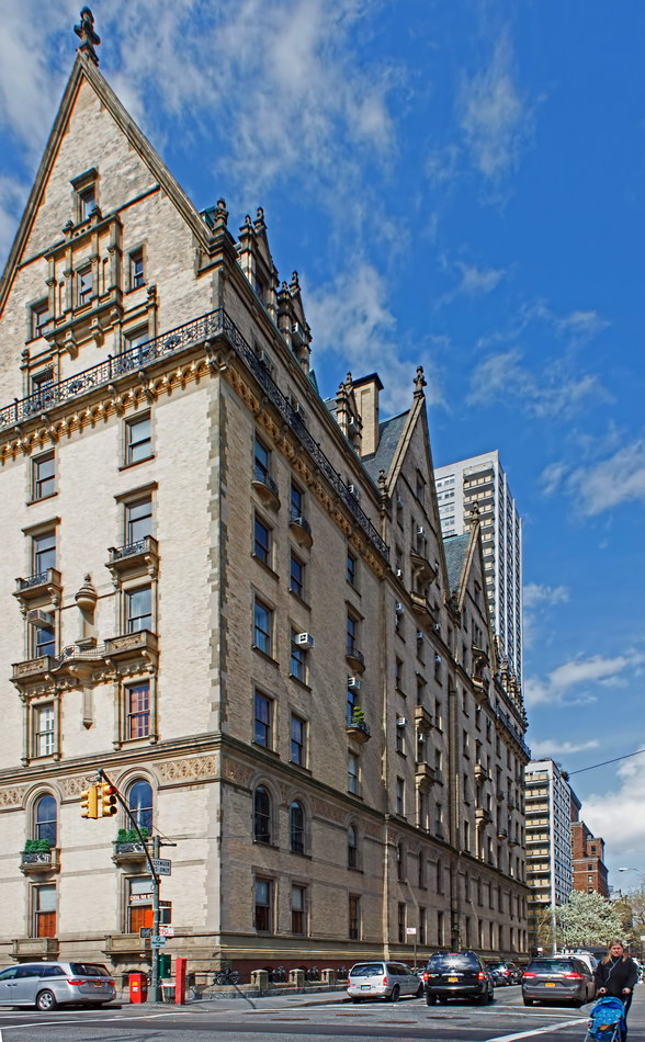 The Dakota (W 73rd Street facade)