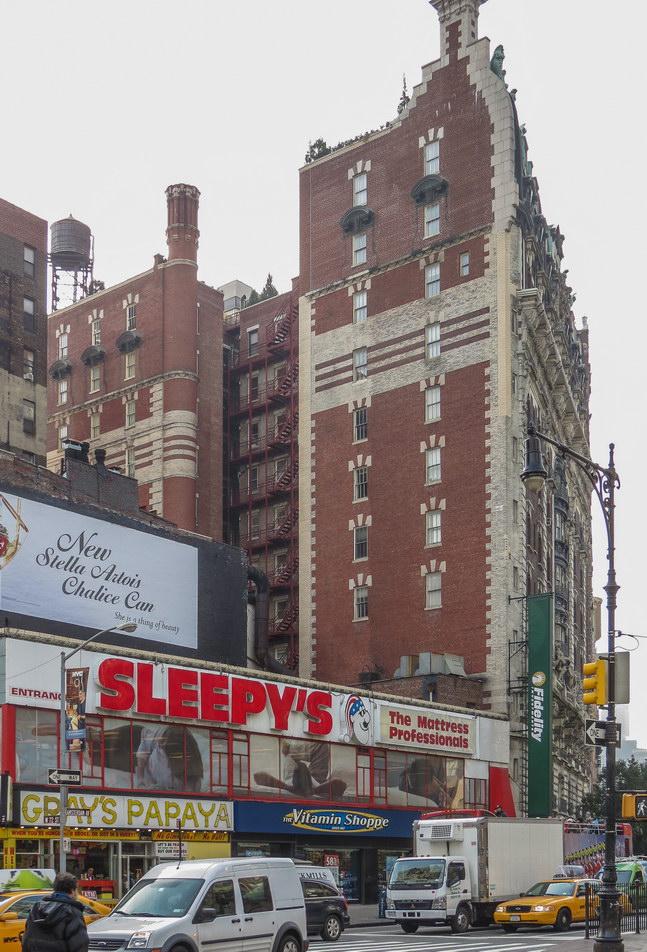 Northern facade.