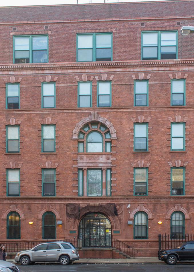 Gouveneur Hospital front (Water Street) facade.
