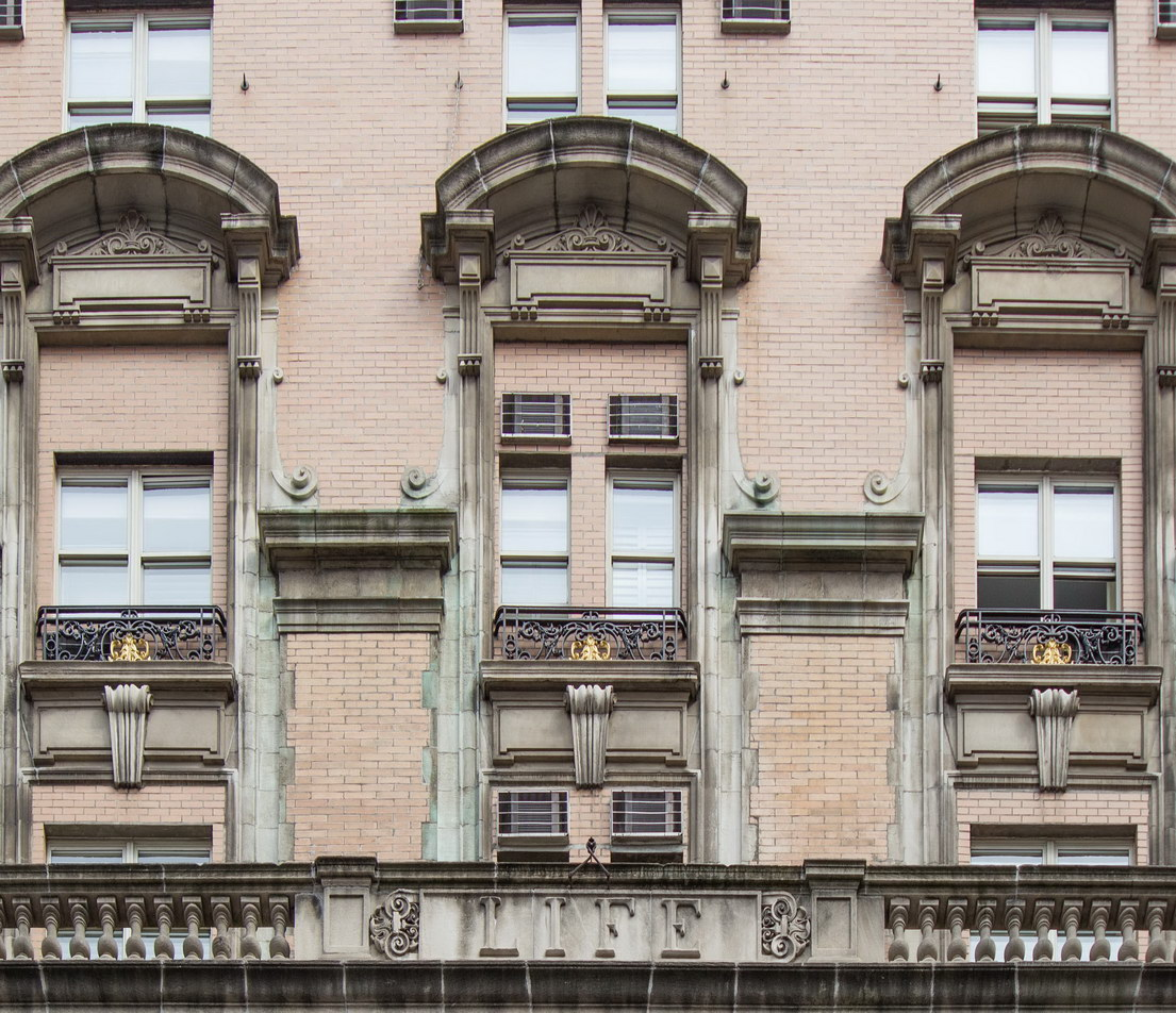 The original grand windows replaced.