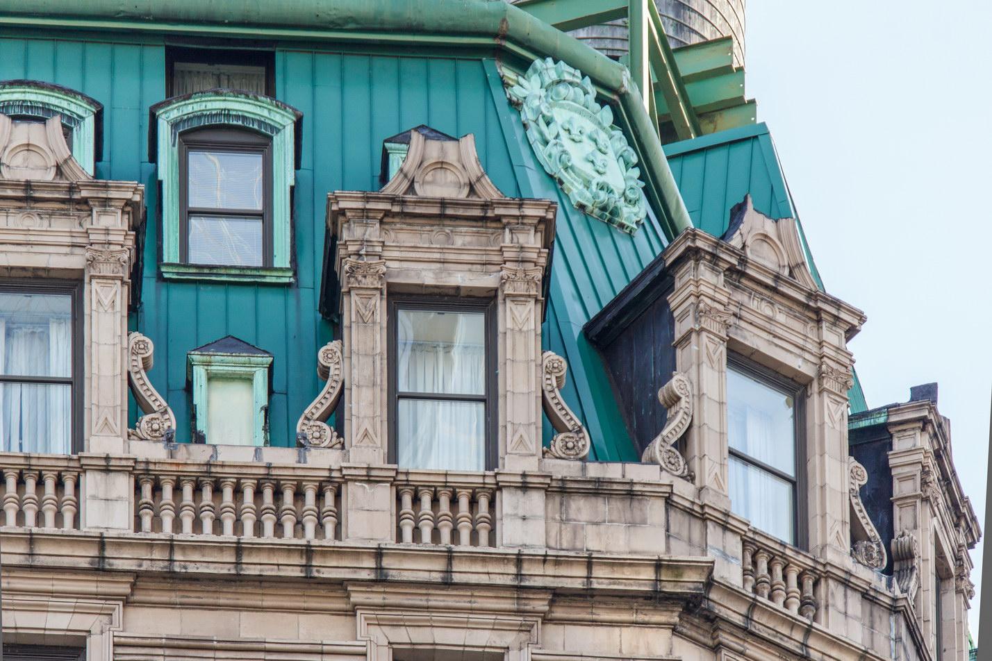 Detail, Broadway facade.
