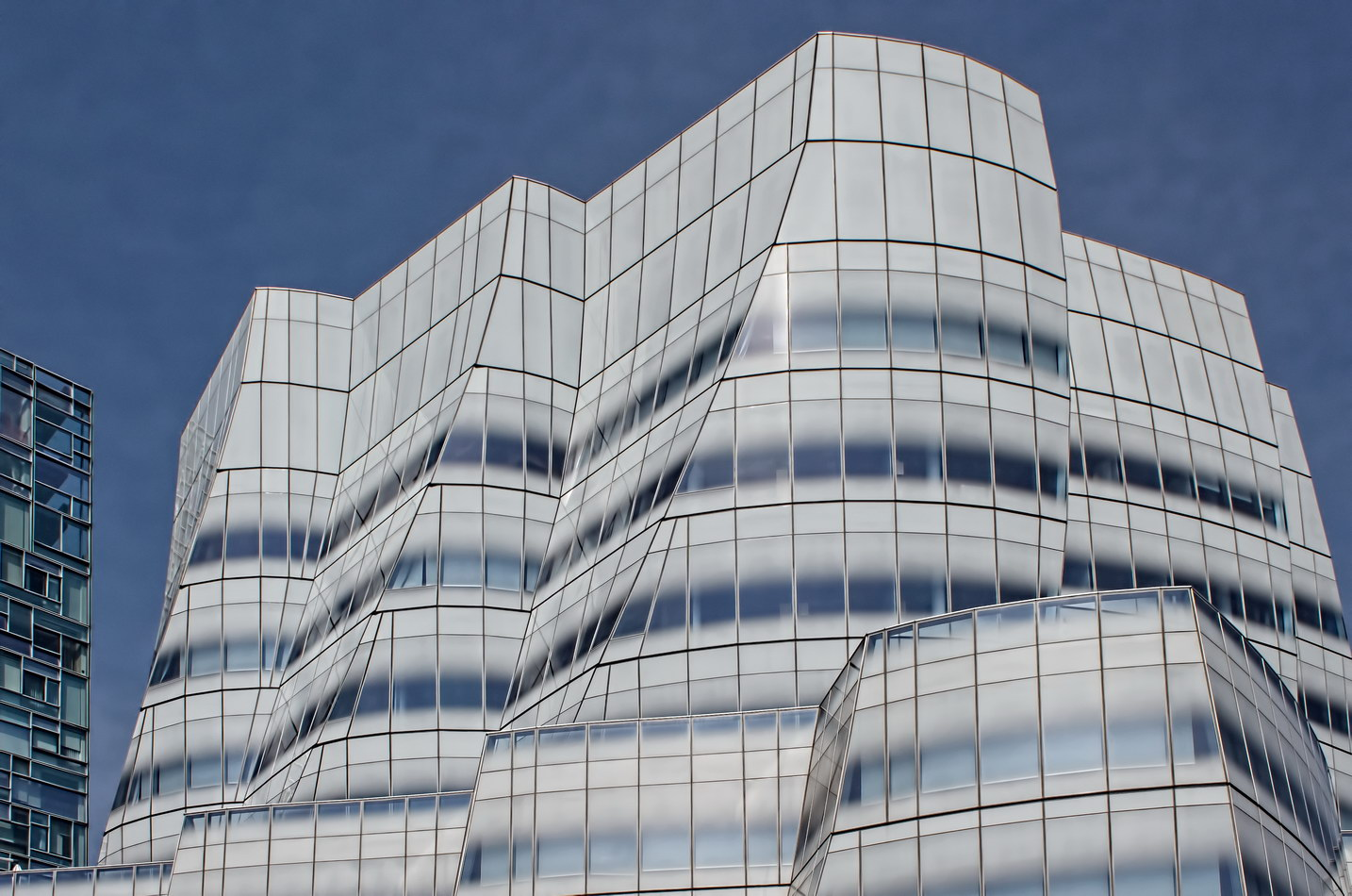 New york architecture photos iac building - Architecture of a building ...