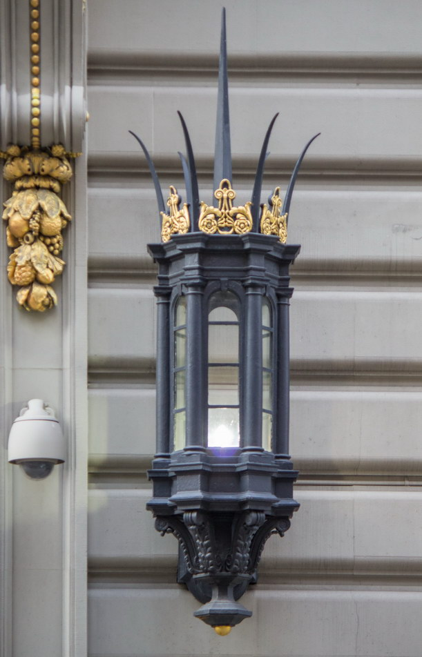 Masonic Hall detail.