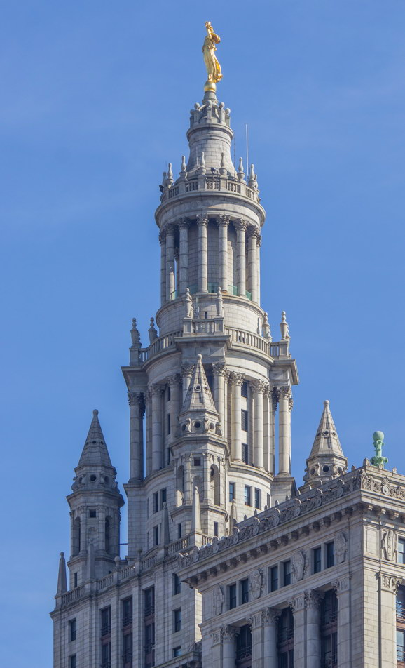 The tower is 15 stories high.