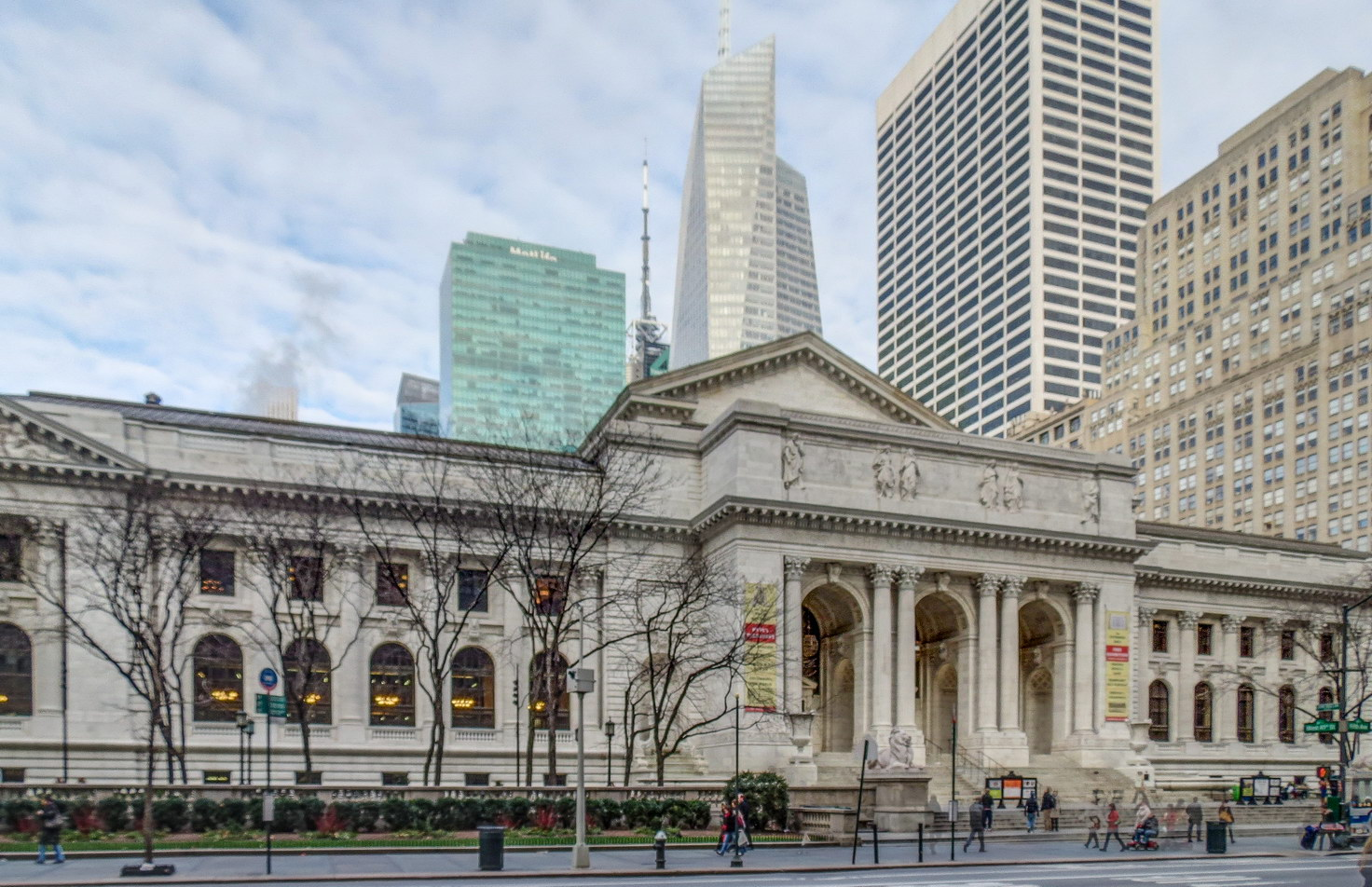 New York Public Library - Fifth Avenue, W 40 - W 42 St.