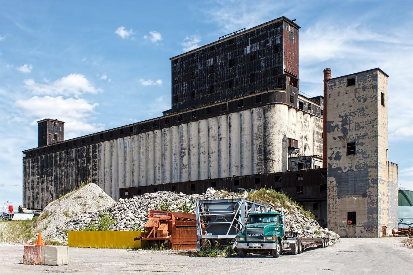 Port of New York Authority Grain Terminal