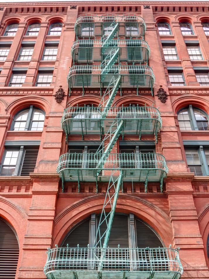 Puck Building - Mulberry Street facade.