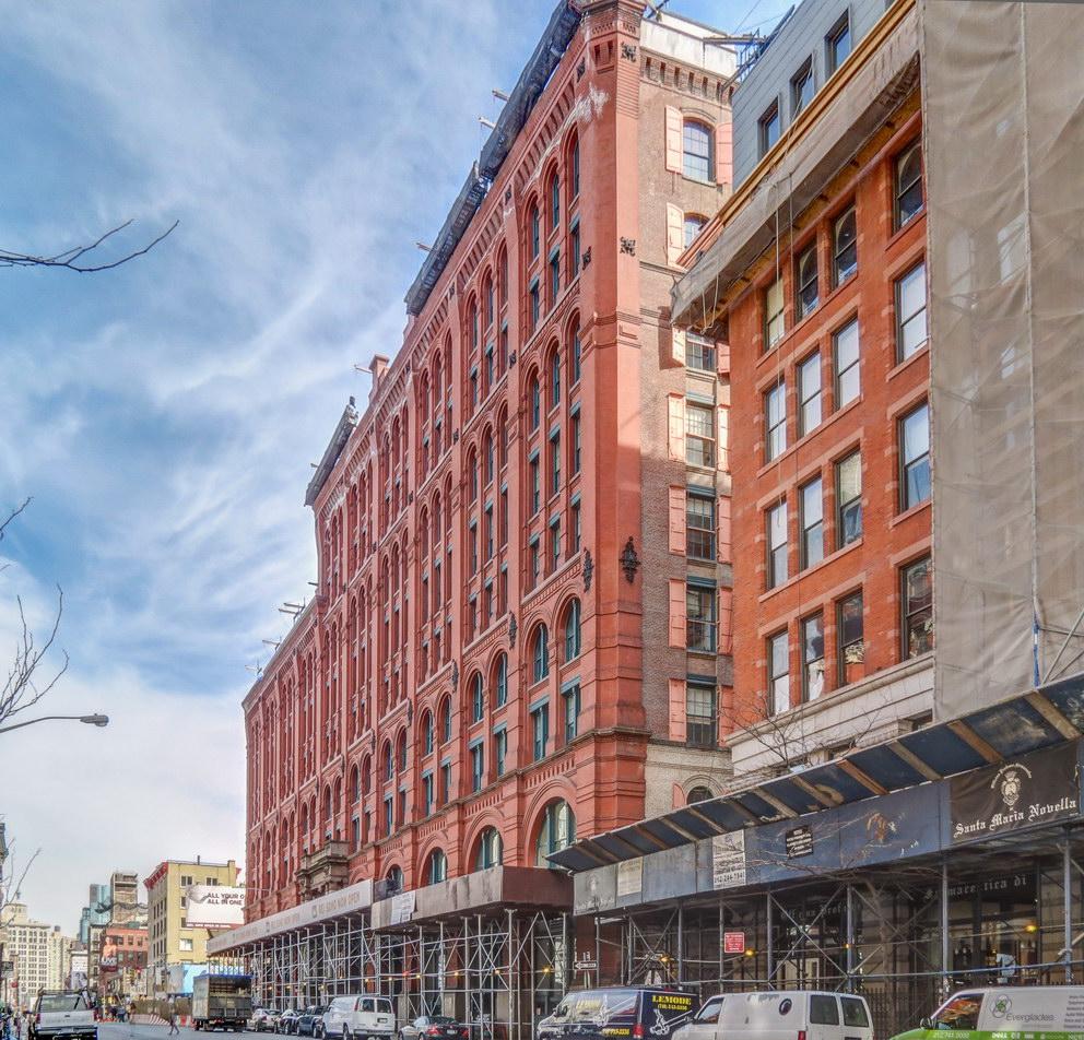 Puck Building - Lafayette Street facade.