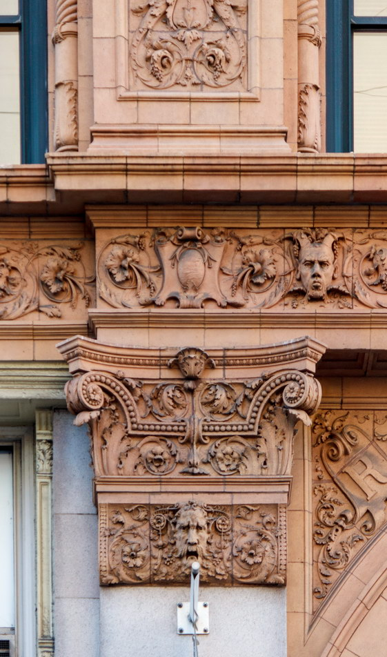 Roosevelt Building detail.