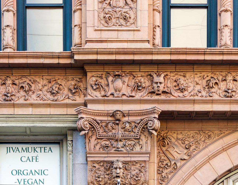 Roosevelt Building detail.