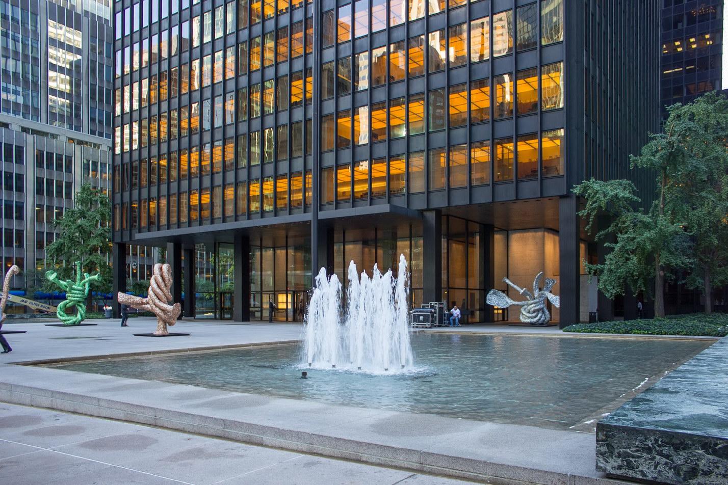 New York Architecture Photos: Seagram Building