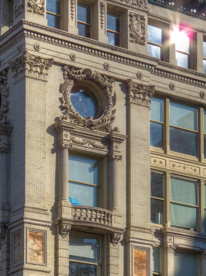 Siegel-Cooper Building - detail.