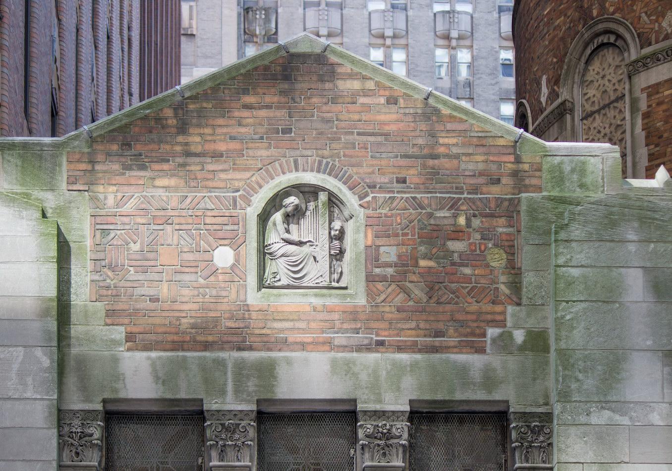 St. Bartholomew's Church - detail.