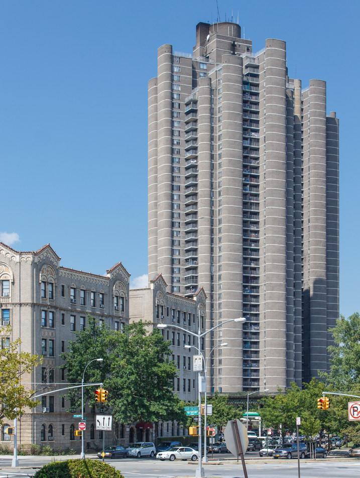 Tracey Towers are the Bronx's tallest buildings.
