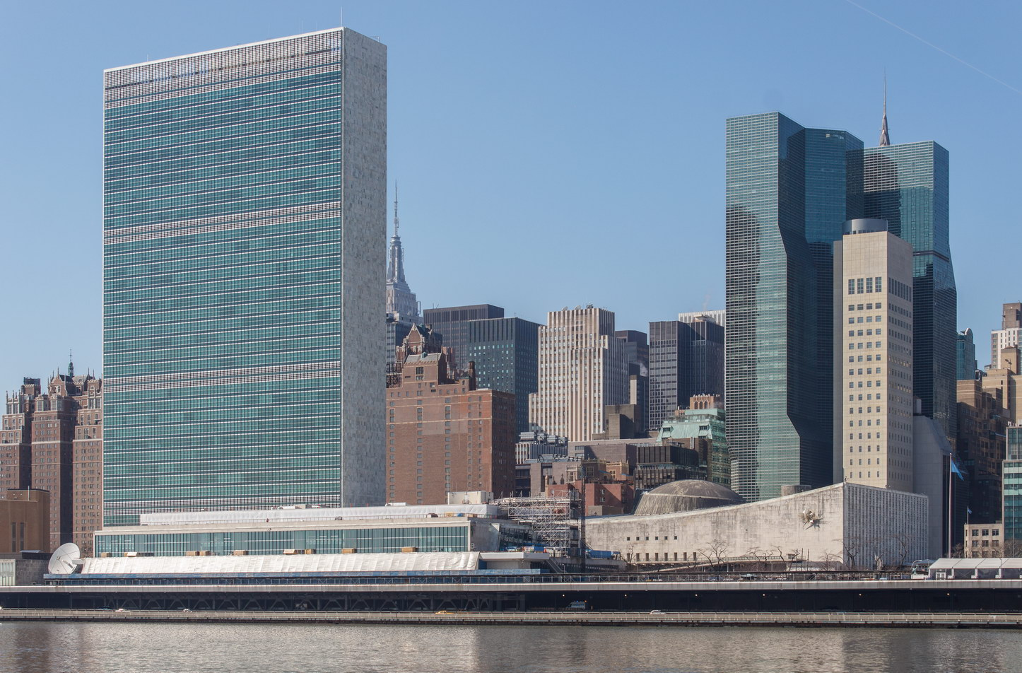 View from Roosevelt Island.