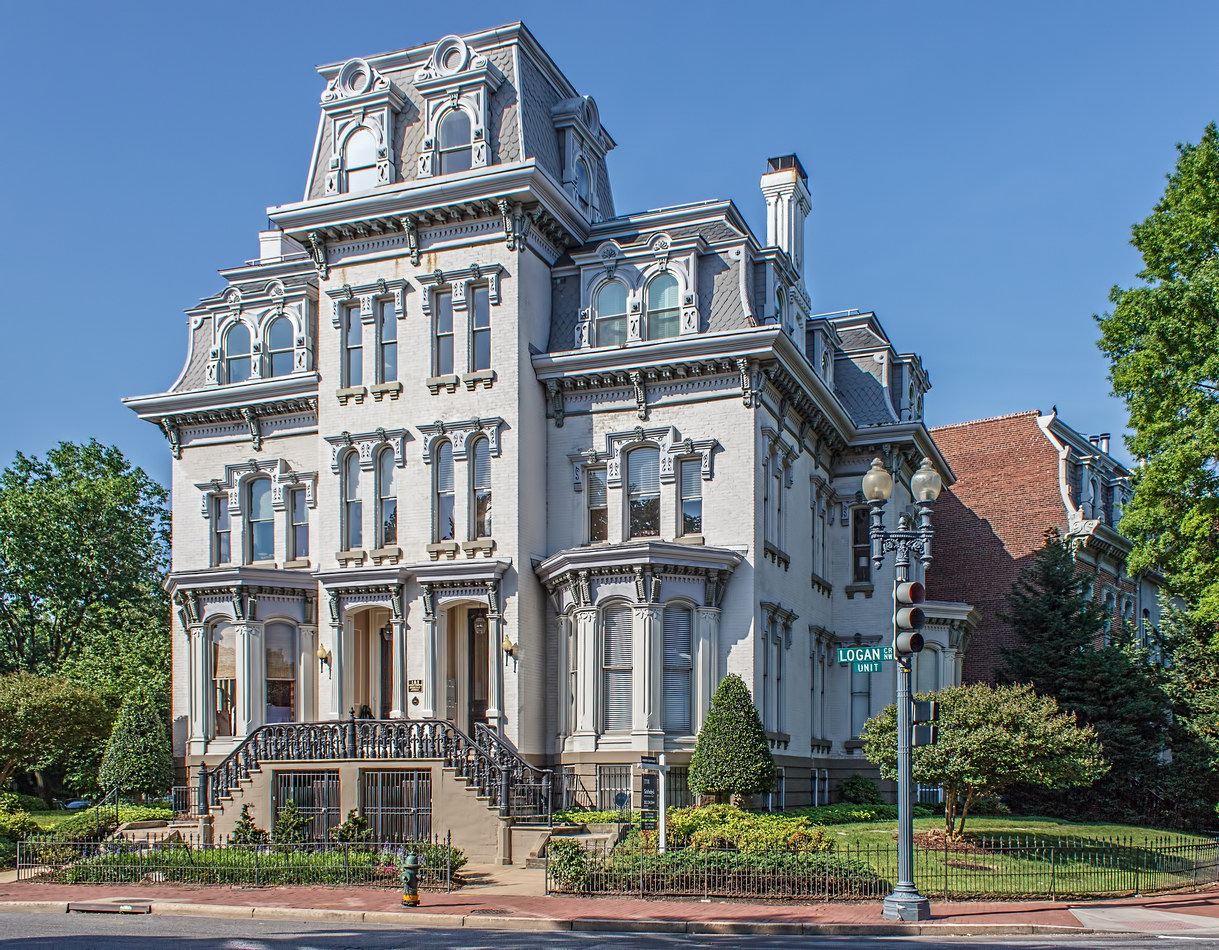 Home of Ulysses S. Grant on Logan Circle (built 1877).