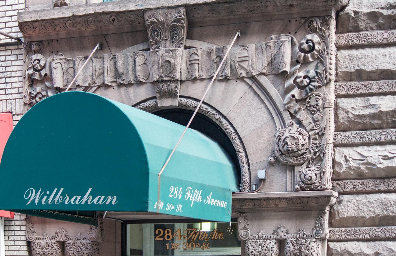 "The stone says ""Wilbraham"" - canopy says ""Wilbrahan"""