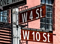Greenwich Village signs