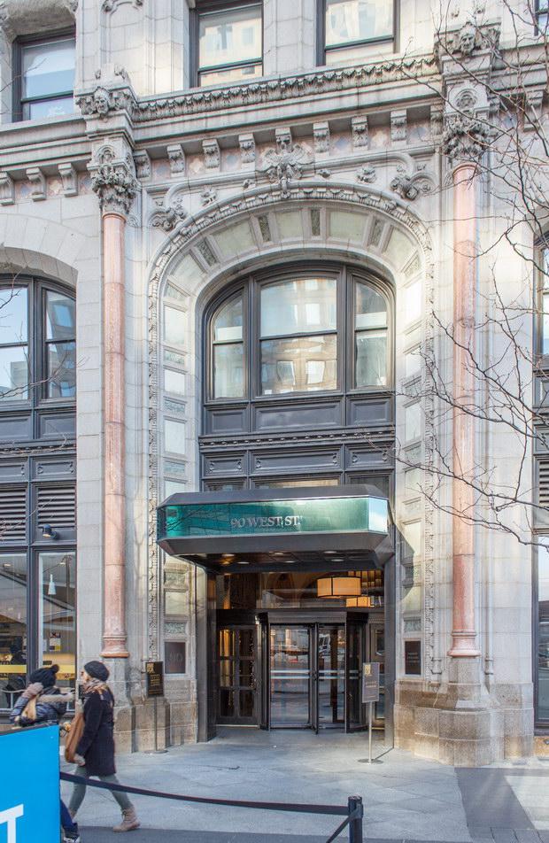 West Street entrance.