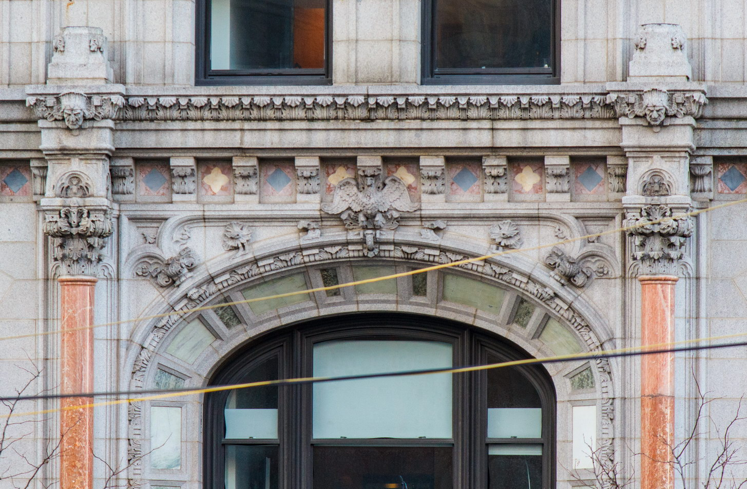 West Street entry detail.