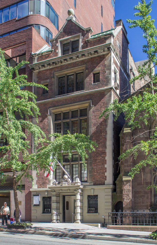 H. Percy Silver Parish House - Renaissance Revival.