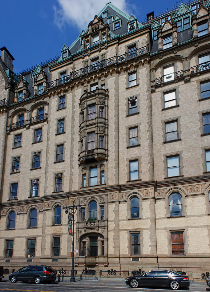 The Dakota (Central Park West facade)