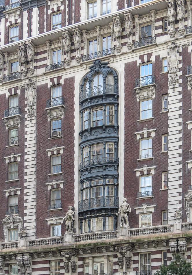 Amsterdam Avenue facade.