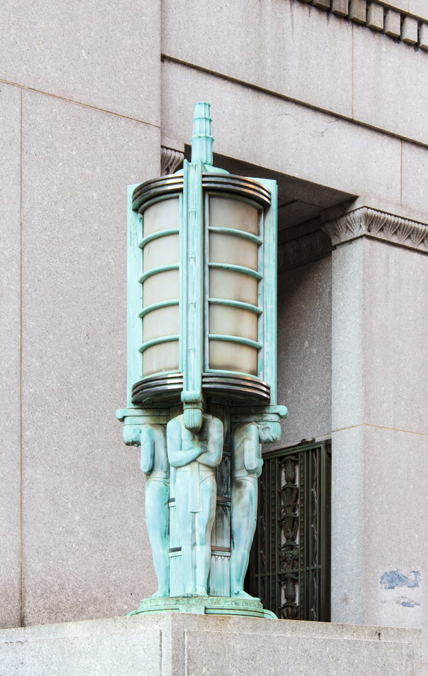 Centre Street detail.
