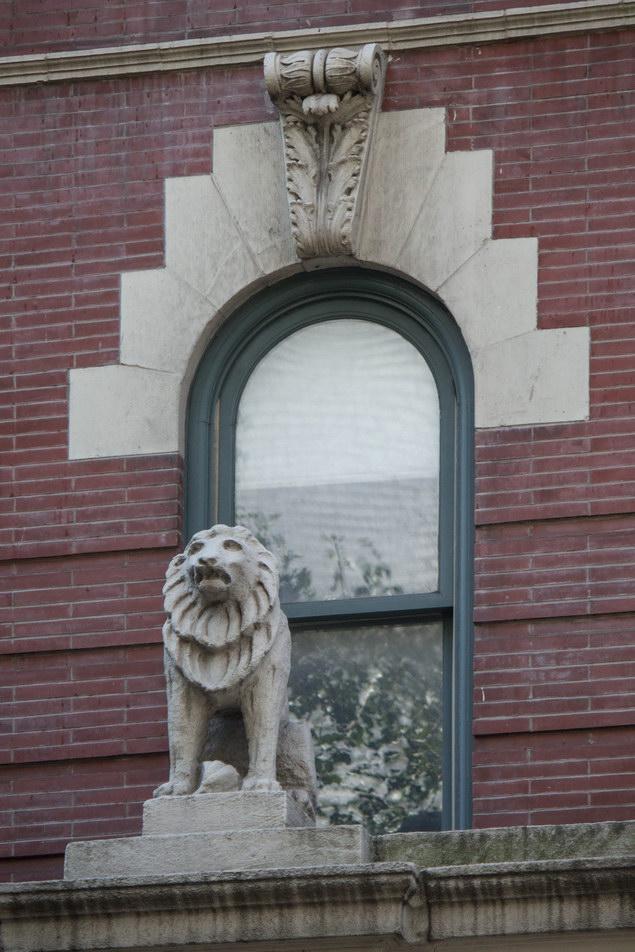Window detail - Jefferson Market Courthouse