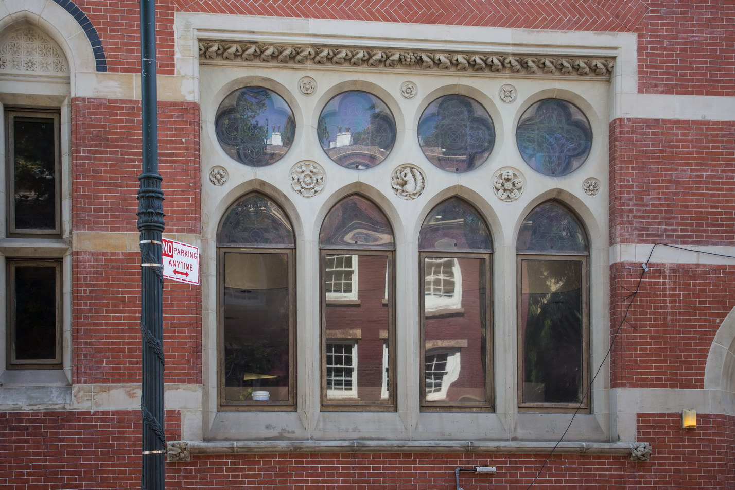 Window detail - Jefferson Market Courthouse