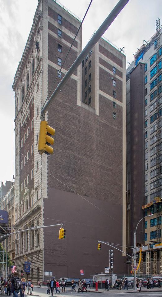 Masonic Hall, viewed from Sixth Avenue.