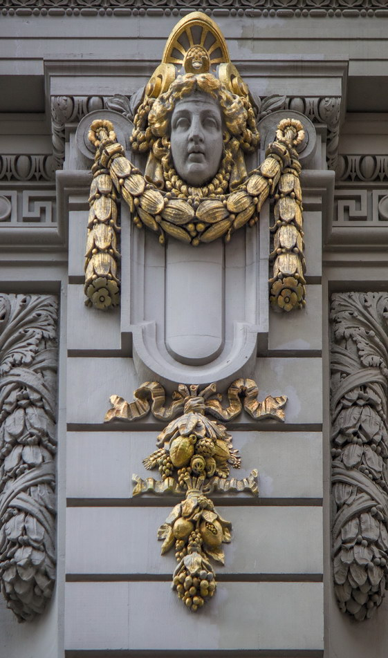 Masonic Hall detail.