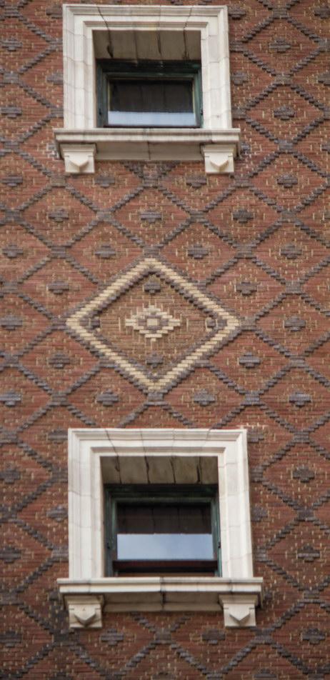 Masonic Hall W24th Street facade.
