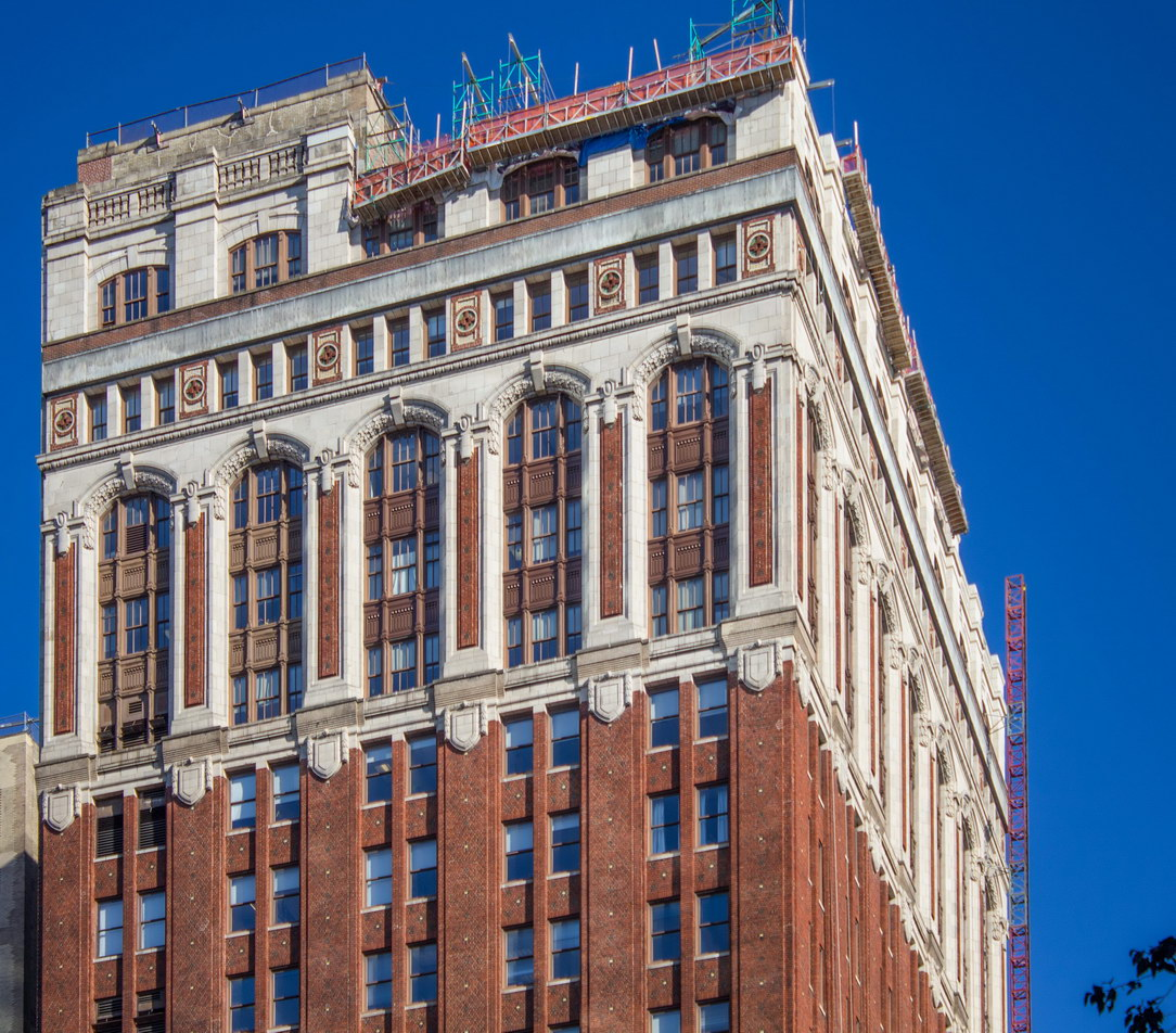 Masonic Building - W23rd Street at Sixth Avenue.