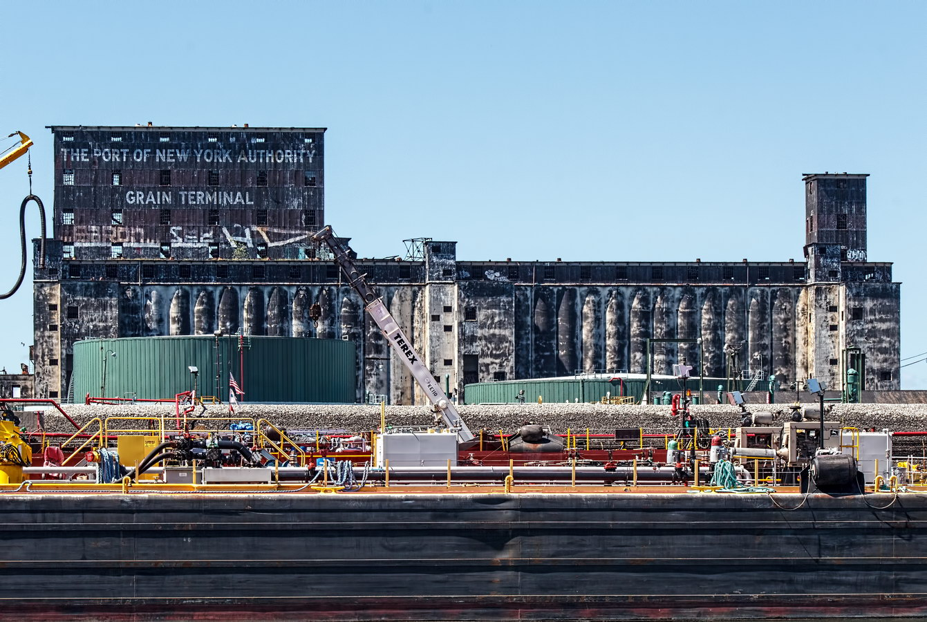 Port of New York Authority Grain Terminal