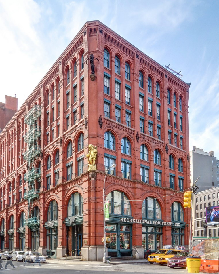 Puck Building - north end.