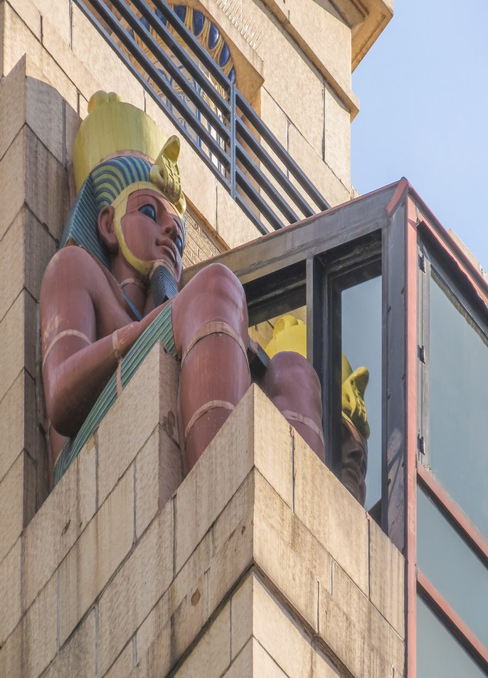 Egyptian motif...