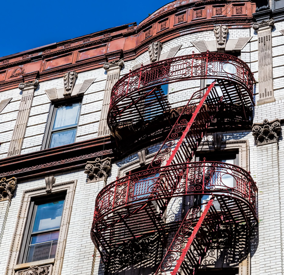 Mulberry Street fire escape