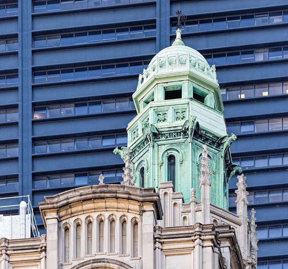 Trinity Building cupola
