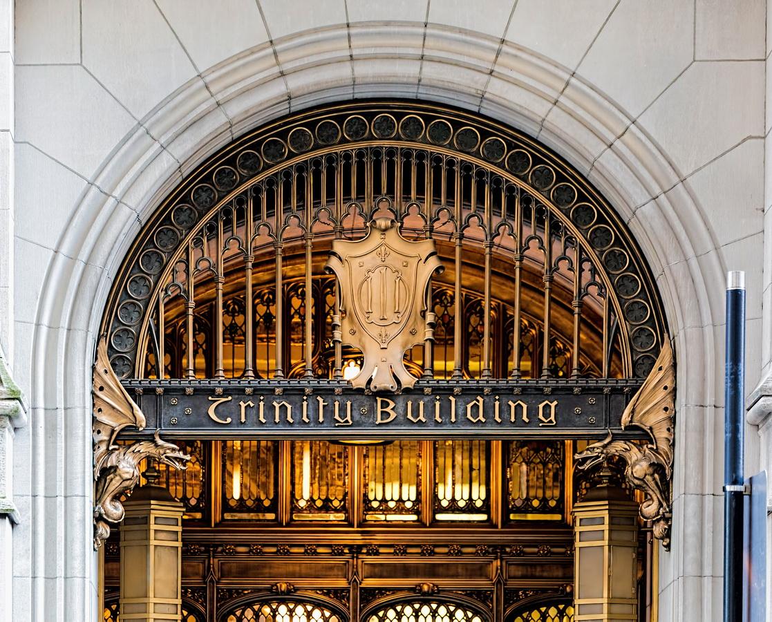 Trinity Building entrance