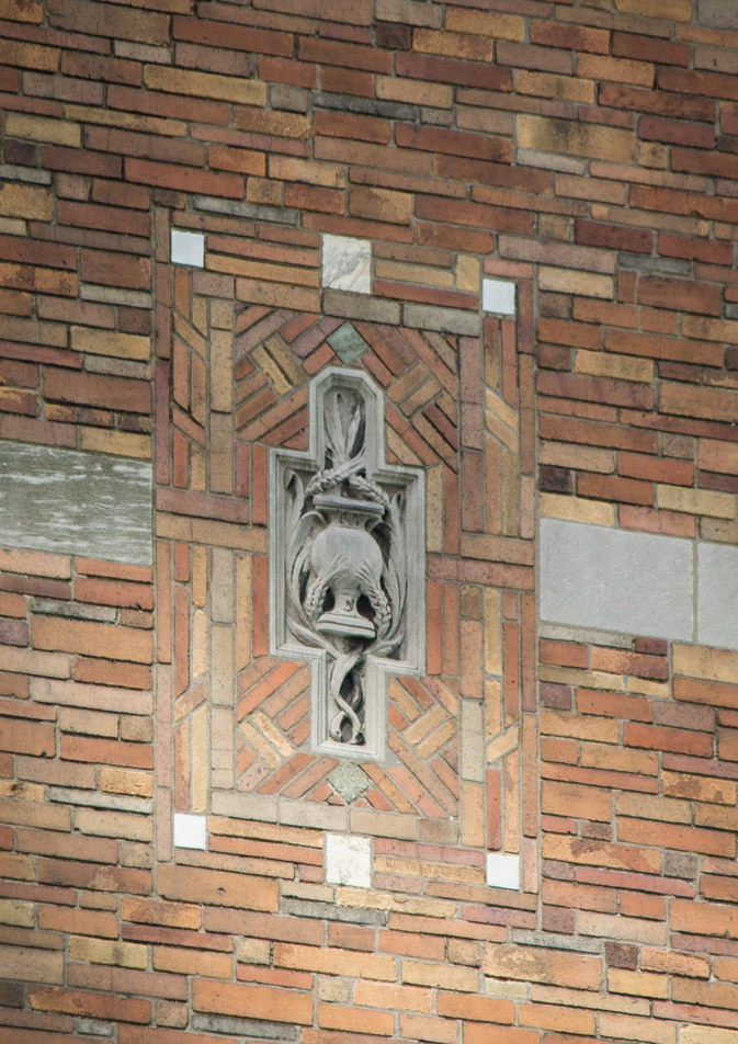 St. Bartholomew's Church - detail.