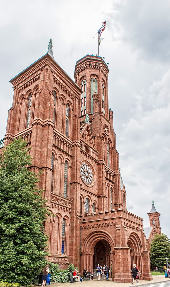 Smithsonian Institute Castle