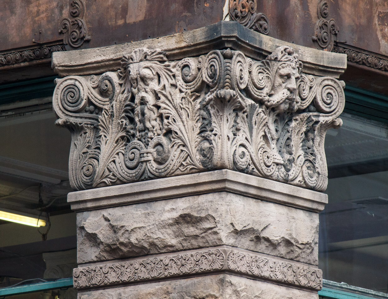 The Wilbraham - corner detail.