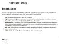 Contents - Index
